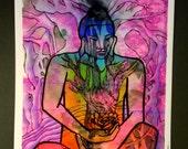 Chakra Roots Print
