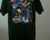 Harley Davidson Clothes Black t shirt