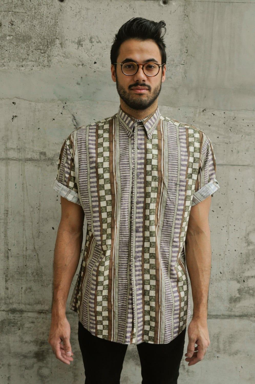 H M Turtleneck African Pattern Shirt ...