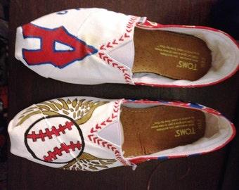 Angels Custom Painted Toms