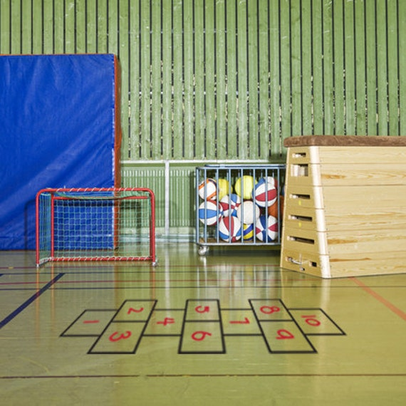 Hopscotch Vinyl Floor Decal