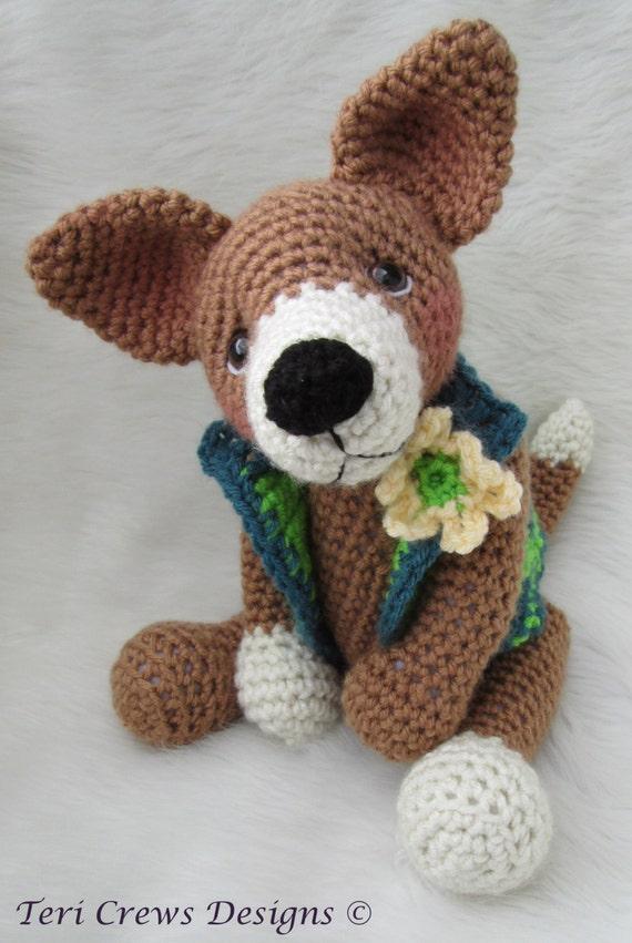 Crochet Pattern Chiwawa Dog by Teri Crews instant download PDF