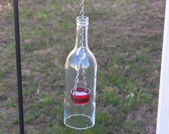 Hurricane Bottle Lanterns