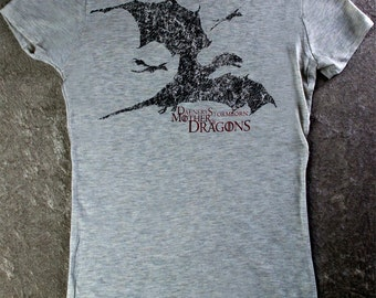 Game of Thrones shirt DAENERYS STORMBORN DRAGONS Are Coming Khaleesi Mother of Dragons.