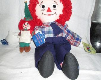 Raggedy Ann/ Raggedy Andy Doll  PAIR By Gatormom13