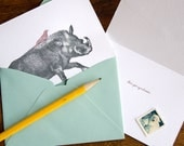 Let's Get Symbiotic. (a scientifically proven letterpress love note in a single card & envelope)