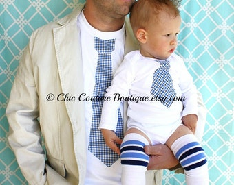 Father 39 S Day New Dad Gift Set Of 2 Dad Baby Boy Tie