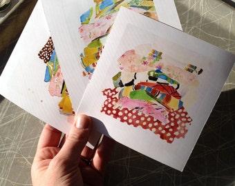 Mini Print Set Paintings S T A C K S  Collection Reproduction Art