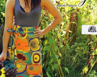 Bistro Betty Apron Pattern by Busy Bee Quilt Designs