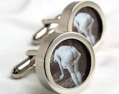 Erotic Photography Cufflinks 1920s Naked Bottom Men's accessories PC474
