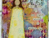 Seeing Things - Mixed-Media Canvas (MADE TO ORDER)