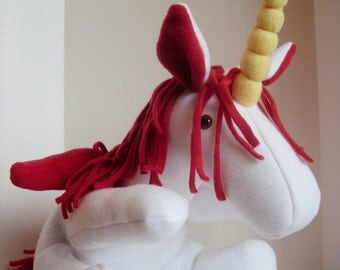 Stuffed Plush Pegasus Unicorn Stuffed Animal Divine Horse Stuffed Toy
