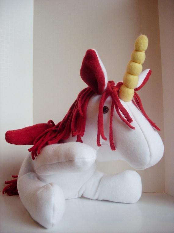 Stuffed Plush Pegasus Unicorn Stuffed Animal Divine by ...