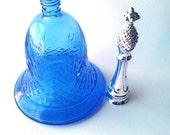 Colbalt Avon Perfume Bottle