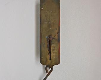 Vintage Hanging Spring Scale