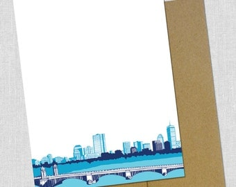 Bold Boston Blank Notecards - Pack of 5