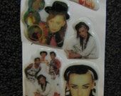 Deadstock Culture Club Puffy Stickers Boy George