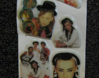 Deadstock Culture Club Puffy Stickers Boy George