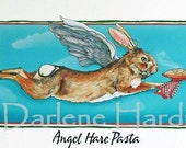 Angel Hare Pasta