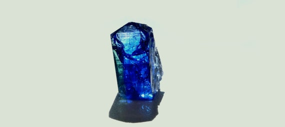 Tanzanite Tri Color Raw Natural  Rough Crystal Specimen 37 carats