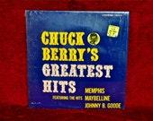 CRAZY CUPID SALE Chuck Berry - Chuck Berry's Greatest Hits - 1964 Vintage Vinyl Record Album