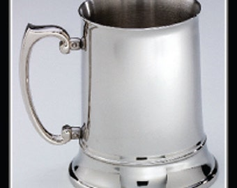 Tanday Silver Engravable Pewter Tankard 4837