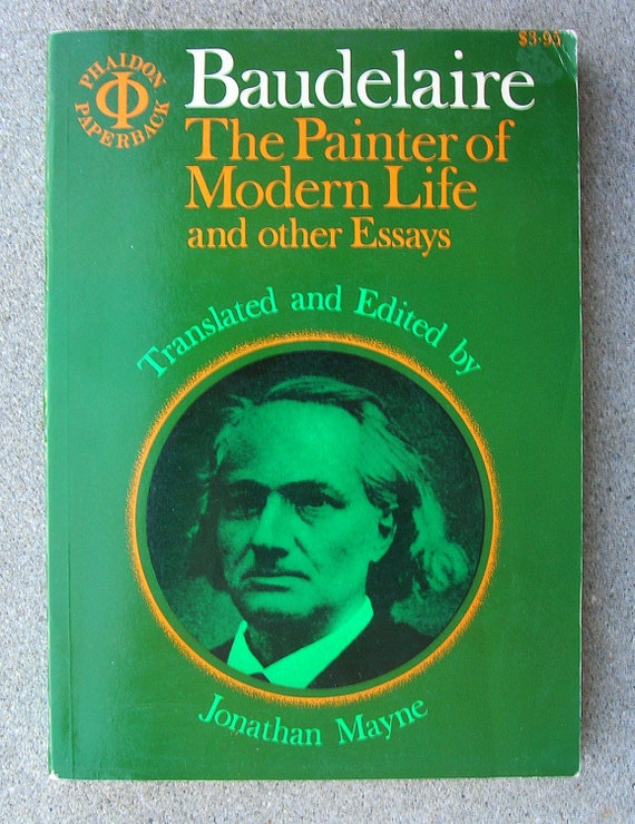 charles baudelaire critical essays The charles baudelaire: poems community note includes chapter-by-chapter summary and analysis, character list, theme list, historical context, author biography and.