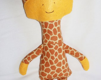 Giraffe Plush by Knittin' Around (KnittinAroundLady)