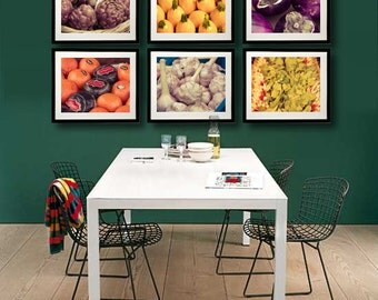 Food Photography,Kitchen Art - Ripe - set of 6 8x10 food photographs