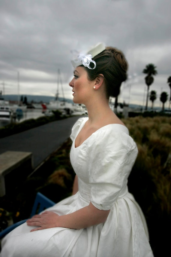 Items similar to Wedding dress, vintage Laura Ashley, xs, s, 80\'s on ...