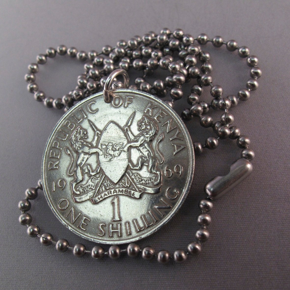 coin jewelry kenya coin necklace africa by
