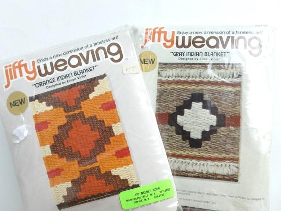 Indian Basket Weaving Kits : Woven indian blanket jiffy weaving kits by bornatthewrongtime