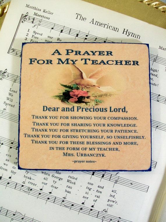 Teacher Gifts Religious Art Teacher Appreciation by ...