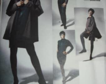 VOGUE designer pattern 2564 Michael Leva jacket dress top pants shorts size 8 10 12 complete and uncut