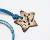 Star Shaped Turtle Necklace