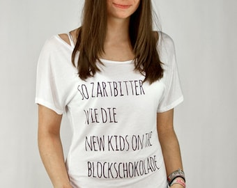 So zartbitter wie die new kids on the block Schokolade - Batwing Tunic T-Shirt