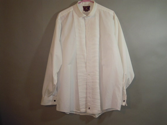 Mens Tux Shirt Nordstrom 100 Cotton Pin Tuck: 100 cotton tuxedo shirt