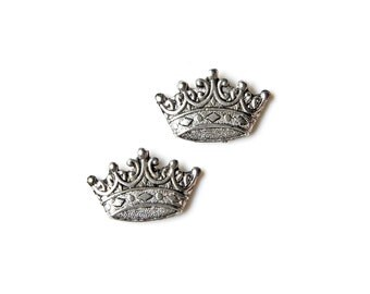 Crown Cufflinks - Gifts for Men - Anniversary Gift - Handmade - Gift Box Included