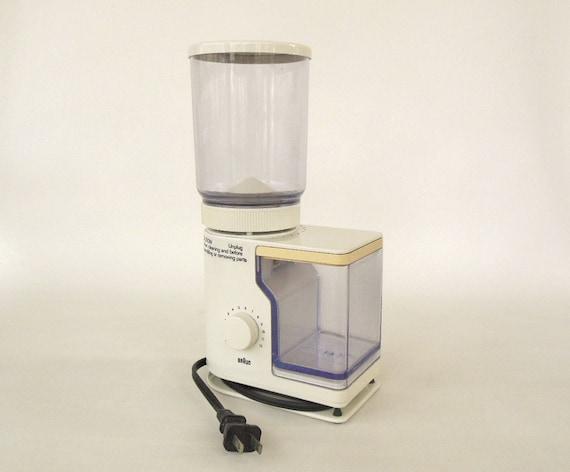 Braun Coffee Grinder ~ Braun coffee grinder burr kmm used