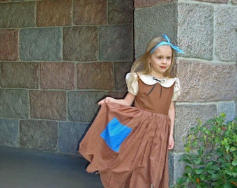 Snow White Costume Rags Dress