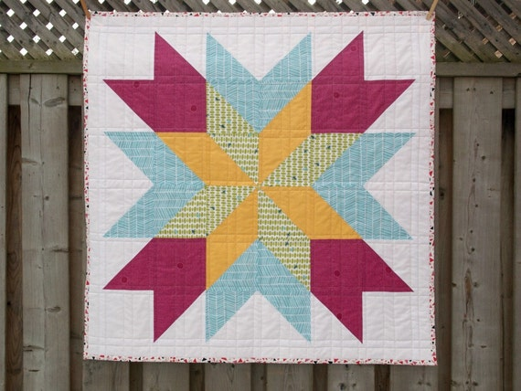 Orion Star - Handmade Quilt by Miss Print