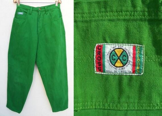 90s Baggy CROSS COLOURS Hip Hop Jeans Sz 29 x 31