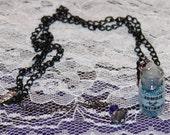 Zombie Antidote Glass Vial Pendant Necklace Handmade Unique