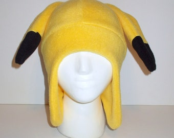 Pikachu Fleece Aviator Hat