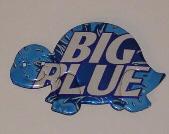 Turtle Magnet - Big Blue Soda Can (R)