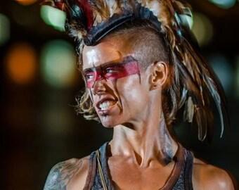 "Feather Mohawk  - ""Indigenous"" (Customizable)"