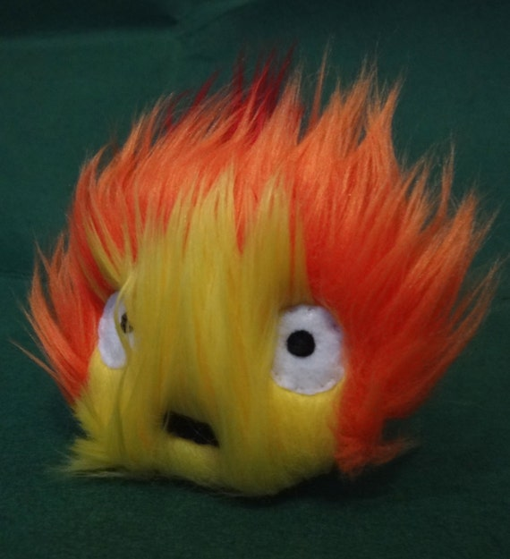 Calcifer Howl's Moving Castle By Thisishalloweentown On Etsy