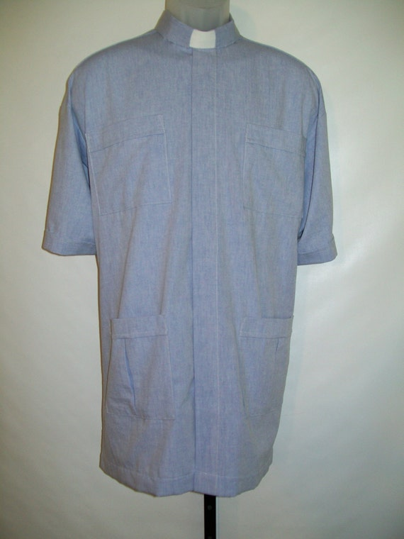 Panama clerical french blue shirt all cotton oxford select for French blue oxford shirt