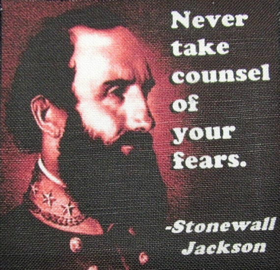 Stonewall Jackson Quotes: Items Similar To STONEWALL JACKSON QUOTE