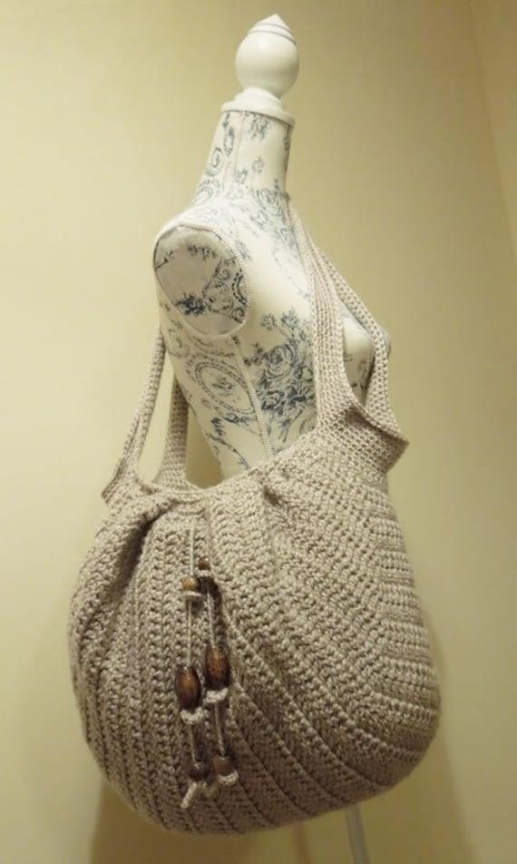 Crochet Pattern (PDF PATTERN) Beach Boho Bag